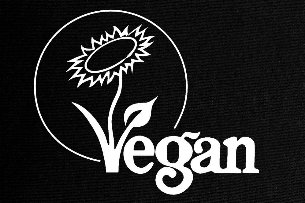 Vegan Patch gedruckt NEU Meat is Murder Animal Liberation Straight Edge