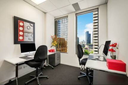 Serviced Office Space with Collins Street views