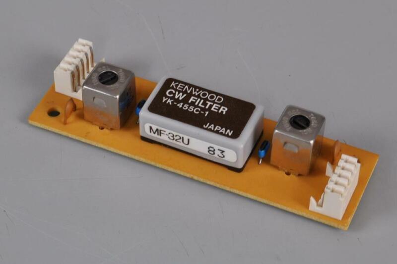 KENWOOD YK-455C-1 500hz CW FILTER