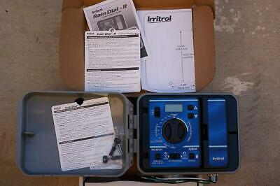 Irritrol RD600-EXT-R Rain Dial 6 Station Outdoor Irrigation 1-(Pack)