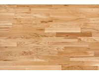New Engineered,Unfinished,Natural Oak Parquet 11/4x70x490mm