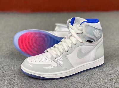 Nike Air Jordan 1 Retro High Zoom White Racer Blue - Sizes 8-13 READY TO SHIP!!