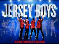2 Jersey Boys tickets.. £50 for both!!