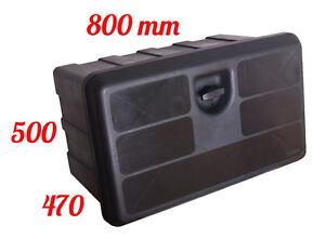 Lago 800x500x470 coffre a outils bo te de rangement camions bo te outils - Boite de rangement pour camion ...