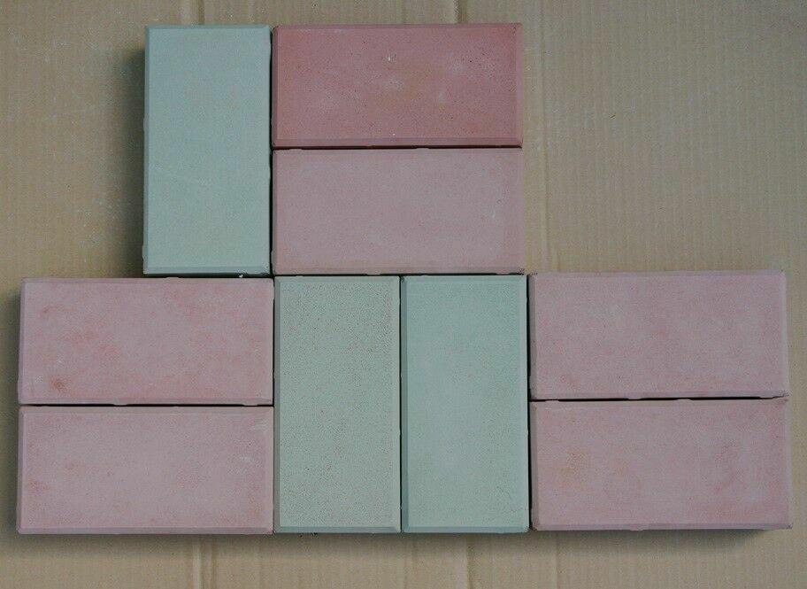 giessform 10 Stück      Formen für Pflaster betonform 20x10x6