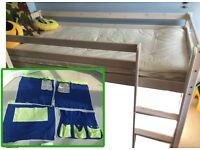 High / loft bed for child