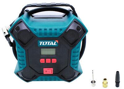 Total Tools Compresor aire enchufe mechero coche 12V 160PSI TTAC1601
