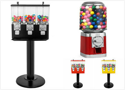 Bulk Vending Gumball Candy Machine Countertop Treat Dispenser All Metal w/ Keys