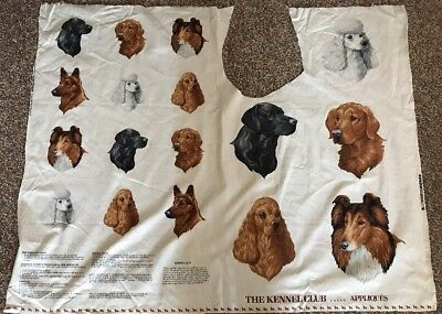 AMERICAN KENNEL CLUB DOG APPLIQUÉ Poodle Collie Spaniel Golden Lab PC#3
