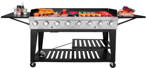 Large Gas Grill Outdoor Event Party 8 Burner BBQ Commercial