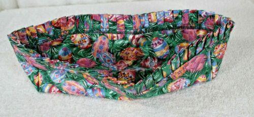 Longaberger Cracker Basket Fabric Liner Easter
