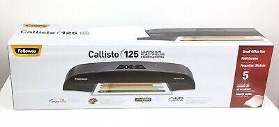 Fellowes Callisto 125 Laminator 12 Wide X 5mil Max Thickness - New