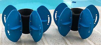 Aqualogix Maximum Resistance Aquatic Fins - Use on Lower or Upper Body
