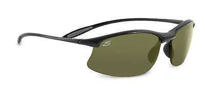 Serengeti Sunglasses MAESTRALE - Shiny Black  POLARIZED PHD 555 (Serengeti Maestrale)