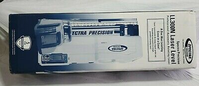 Spectra Precision Ll300n Laser Level Hl450 Receivertripod Rod Inches