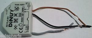 Regulador de intensidad potencia luz 500w dimmer dinuy re pla 001 repla001 - Regulador de intensidad ...
