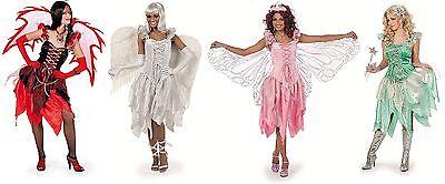 Feen Fee Elfe Tinkerbell Kostüm Kleid Elfen Damen Waldfee Engel Schmetterling (Tinkerbell Kostüme Damen)
