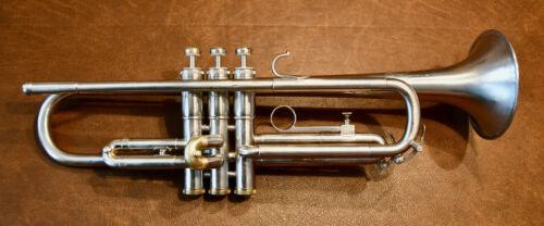 Olds Special Model Trumpet – Refurbished, Custom Brushed Nickel Silver Finish