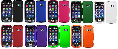 Solid Hard Snap On Cover Case for LG Extravert 2 VN280 / LG FREEDOM II 2 UN280