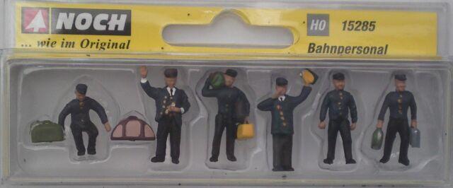 NOCH 15285 Train Personnel 00/H0 Model Railway Figures