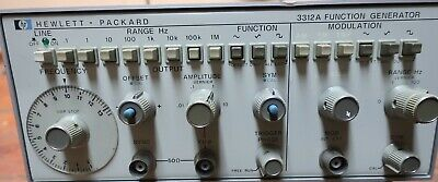 Hp3312a Function Generator - Very Good