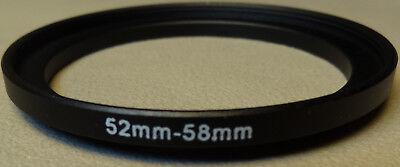 52mm To 58mm Verstärken Filter Objektiv Ring Metall DSLR SLR Digitalkamera (Objektiv Verstärker)
