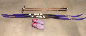 Keil Sportler cross country skis, boots, poles
