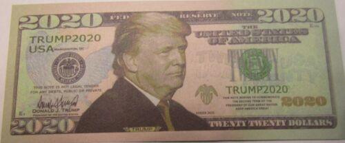 "FREE SHIPPING (Lot of 200) Trump 2020 ""Fake"" Bills No cash Value"