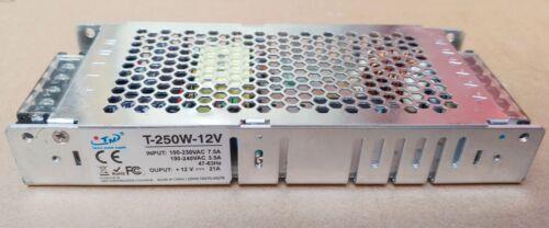 12V 20A/21A 250W DC Regulated Switching Power Supply LED Strip 110V-220V