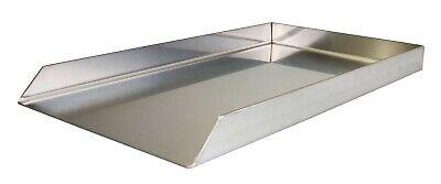 Edelstahl Grillplatte Plancha 26 x 44,3 cm für Weber E 200 ab 2013 Regler vorn