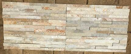 Stacked Stone panels - 60x15cm x 25mm thick - 5 square metres