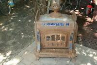 Antique wood burning stove./Victoria Harbour