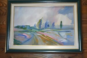 """Beautiful Oil Paintings """"AFTER THE STORM"""" signed by artist"""