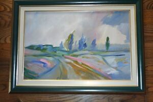 "Beautiful Oil Paintings ""AFTER THE STORM"" signed by artist"