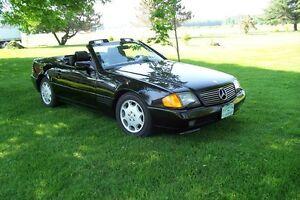 1992 Mercedes-Benz SL-Class cuir Cabriolet
