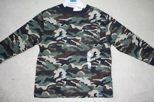 BRAND NEW - OLD NAVY CAMOUFLAGE SHIRT - SIZE XS (4)