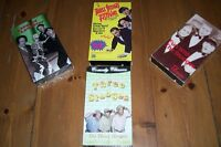 CLASSIC COLLECTION FOUR VHS TAPES THE THREE STOOGES LIKE NEW