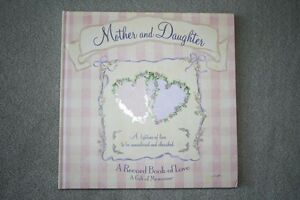 BRAND NEW - HARDCOVER MOTHER/DAUGHTER MEMORY BOOK