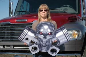 PISTON-AND-ROD-SKULL-HOT-ROD-DRAG-RACING-CAR-TRUCK-MOTORCYCLE-BIKE-STEEL-SIGN