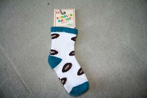 BRAND NEW - TODDLER FOOTBALL SOCKS - SIZE 5-6 1/2