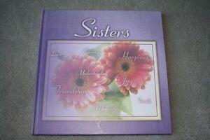 BRAND NEW - SISTERS MEMORY BOOK