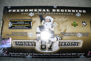 BRAND NEW Sidney Crosby Hockey Cards - Exclusive 20-Card Set