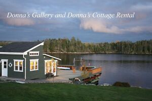Donna's Gallery and Donna's Cottage Rental