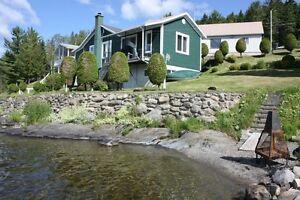 Chalet (maison) lac Témiscouata à louer ou vendre (198,000$)