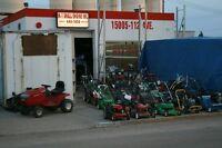 Snowblowers  Lawn mowers  Tractors  Compressors  Service  Repair