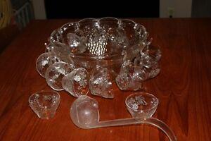 Punch bowl & glasses Peterborough Peterborough Area image 1