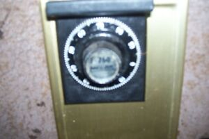 OLD WALL SAFES ONE COBINATION ONE KEY MADE IN USA London Ontario image 1