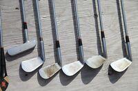 8 Batons de Golf: SPALDING.. Debutant ou Enfant.  LIVRAISON