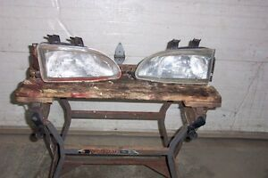 1992-1995 Honda Civic Front Lights