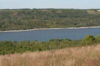 SUB-DIVIDED LAND ADJACENT TO MANITOBA'S LAKE OF THE PRAIRIES